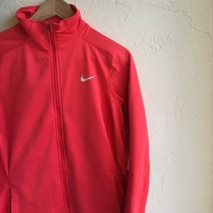 Nike cold weather running jacket.